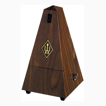 Metronome - Plastic Casing - Walnut - Without Bell