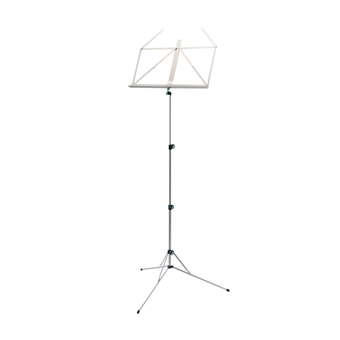 101N Music Stand  - Nickel Coloured