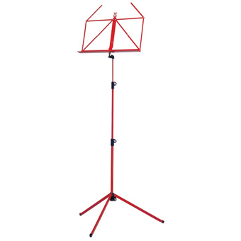 100-1 Folding Music Stand - Red