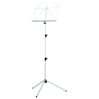 100-1 Folding Music Stand - White
