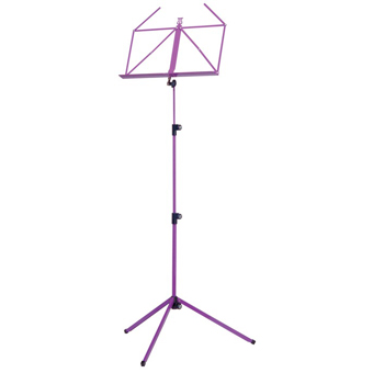 100-1 Folding Music Stand - Violet