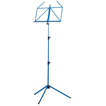 100-1 Folding Music Stand - Blue