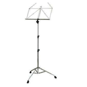 107N Heavy Duty Nickel Coloured Folding Stand