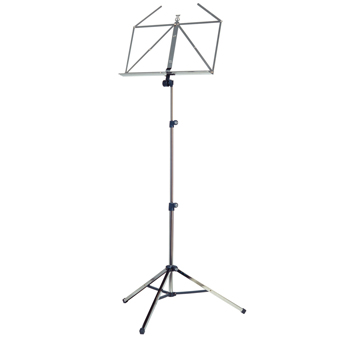 10065 Music Stand - Nickel Coloured