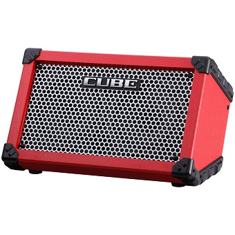 Cube Street Battery Amp - Red