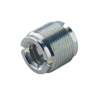 Thread Adapter - Zinc Plated - 1/2 - 3/8 Inch