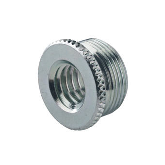 Thread Adapter - Zinc Plated - 3/8 Inch