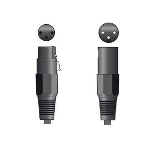 Male XLR - Female XLR 6m