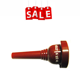 6.5AL Trombone/Baritone Mouthpiece - Marching Maroon RRP £31.00 NOW £21.08