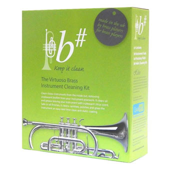 b# Brass Instrument Cleaning Kit - RRP £33 NOW £27.50