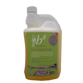 b# Brass Instrument Soak - 1 Litre