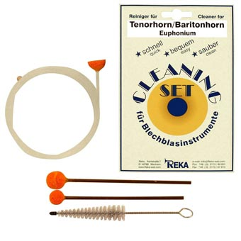 Tenor Horn, Baritone, Euphonium Cleaning Kit