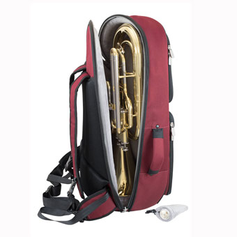 Tom & Will Baritone Gig Bag - Burgundy