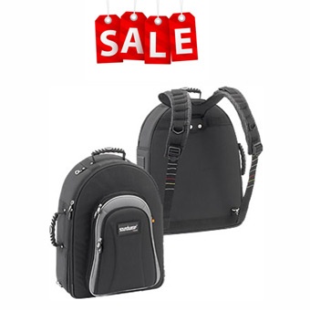 Performer Hard Shell Backpack - 3 Trumpets/2 Trumpets & Flugel - Black RRP £389 NOW £269