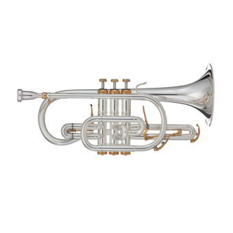 Challenger 11  Bb Cornet in Silver RRP £2138 SALE PRICE £1845