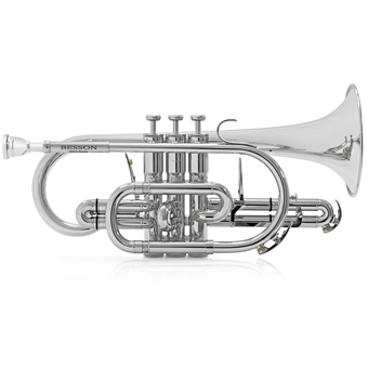 Sovereign BE928 Bb Cornet in Silver