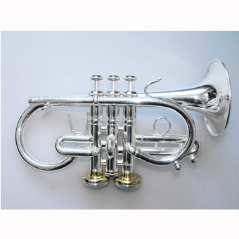 Titan Eb HE Soprano in Silver with Gold Brass Large Bell