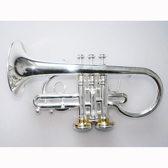 Stomvi Titan Eb HE Soprano in Silver with Gold Brass Large Bell