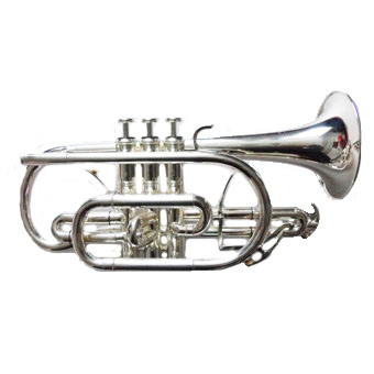 CR500 Bb Cornet in Silver