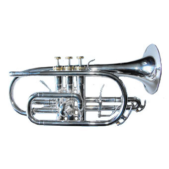 CR900 Bb Cornet in Silver