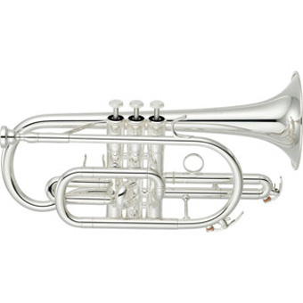 YCR4330GSII Bb Cornet in Silver RRP £1082 now £738.00