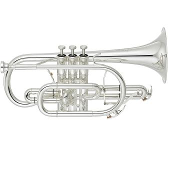 YCR-8335S Neo Cornet with Yellow Brass Bell in Silver
