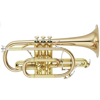YCR-8335G Neo Cornet with Gold Brass Bell in Lacquer