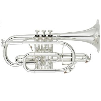 YCR-8335GS Neo Cornet with Gold Brass Bell in Silver RRP £3015 NOW £2195