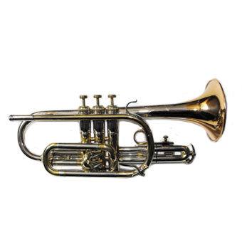 Special (Long Model) Bb Cornet in Tricolor Lacquer