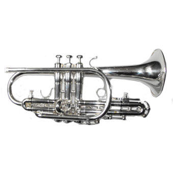 Superstar (Long Model) Bb Cornet in Silver