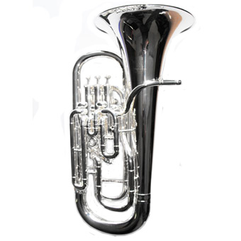 4 Valve Compensating Euphonium in Silver RRP £1995 NOW £1449