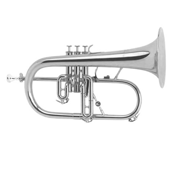 AC154 Flugel Horn in Silver