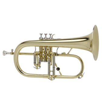 AC155 Flugel Horn in Lacquer
