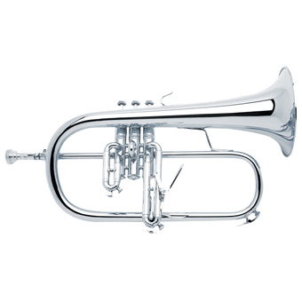 Stradivarius 183GS Flugel Horn in Silver - Gold Brass Bell RRP £4425 NOW £2995