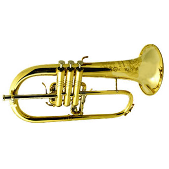 Symphony Flugel Horn in Lacquer