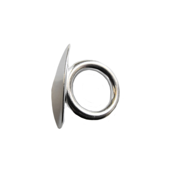 Small Diameter Tuba Carriage Ring in Silver