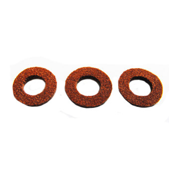 Yamaha Valve Cap Felt (Brown) - Pack of 3