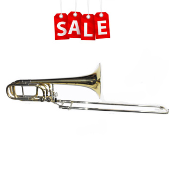 Bb/F/D Bass Trombone in Lacquer RRP £1895 NOW £1295