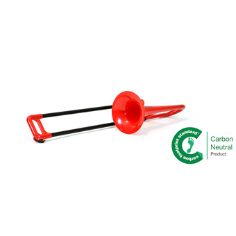 Red - Bb Plastic Trombone
