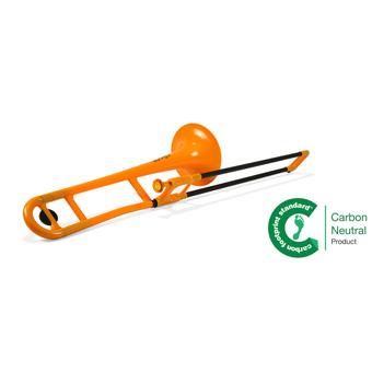 Orange - Bb Plastic Trombone