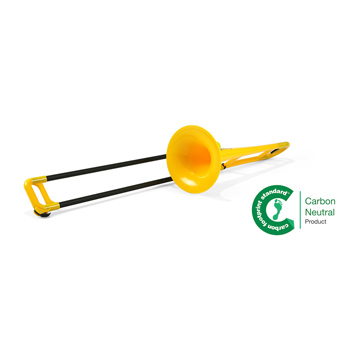 Yellow - Bb Plastic Trombone