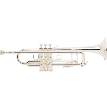 Bach Stradivarius 180-37 Bb Trumpet in Silver