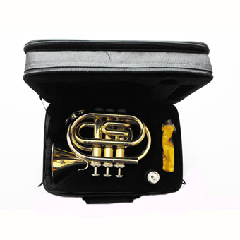 Trevada TRT150 Bb Pocket Trumpet in Lacquer RRP £249 NOW £199