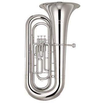 YBB201 Bb Tuba in Silver
