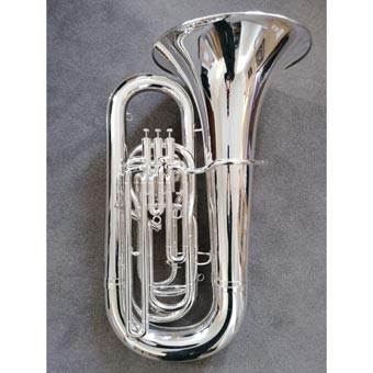 Sovereign 994 BBb Tuba Fully Reconditioned in Silver