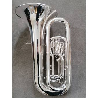 Besson Sovereign 994 BBb Tuba Fully Reconditioned in Silver