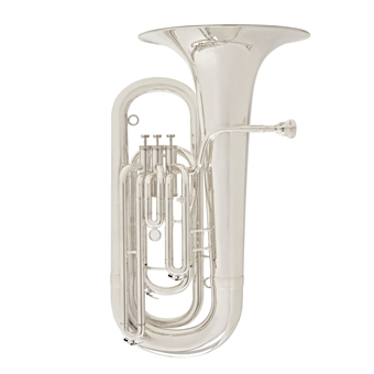 177 New Standard Eb Tuba in Silver