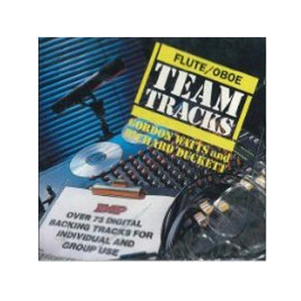 Team Tracks For Oboe / Flute - CD