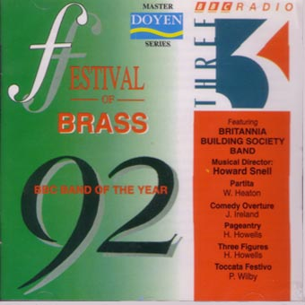 Britannia Building Society Band - Festival Of Brass 1992