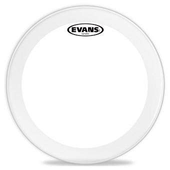 evans 22 eq3 white resonant bass drum head bass drum heads drum heads drums musical. Black Bedroom Furniture Sets. Home Design Ideas
